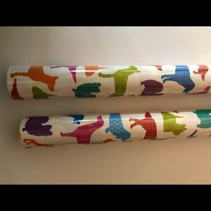 Other - NWT DACSHUND WRAPPING PAPER